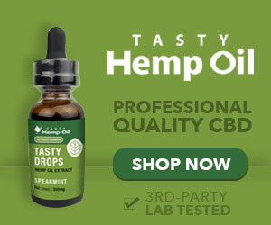 Tasty Hemp Oil - Delicious Tasting CBD Oils