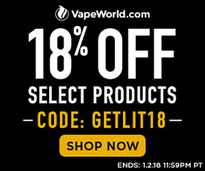 New Year Discount at VapeWorld