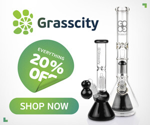 20% off anything at GrassCity