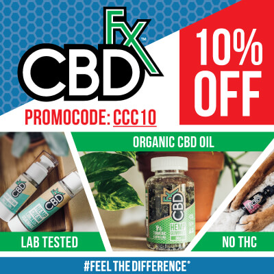 EXCLUSIVE 10% OFF AT CBDFX.COM